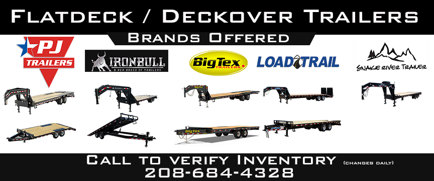Flat Bed / Deckover Trailers