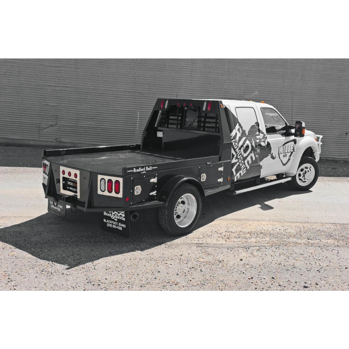 Bradford Built Pickup Truck Stepside Flatbed
