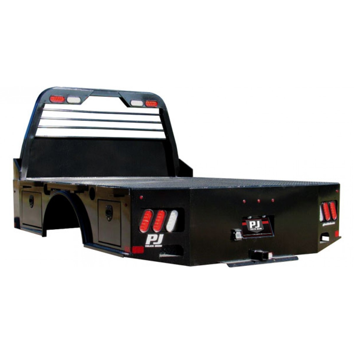 New pj gs flatbed pj pickup flatbeds bumpers for Bed tech 3000