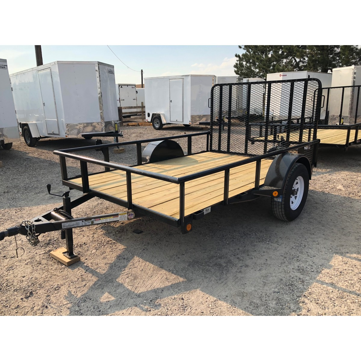 Utility Trailers: New 2018 GR 6x10 Utility Trailer W/ Rear Ramp Gate