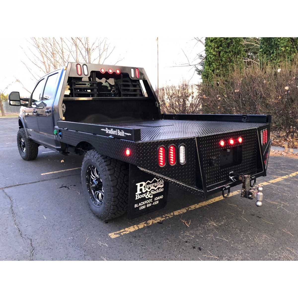 ford truck trailer wiring ford truck trailer plug wiring diagram bradford built flatbed work bed #6
