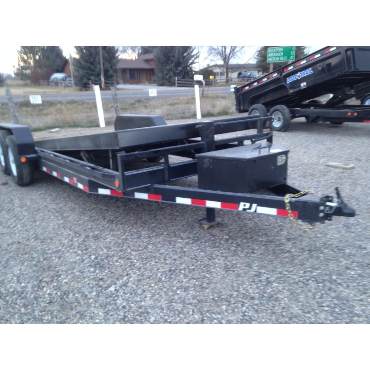 Pj Equipment Tilt Trailer 14000k