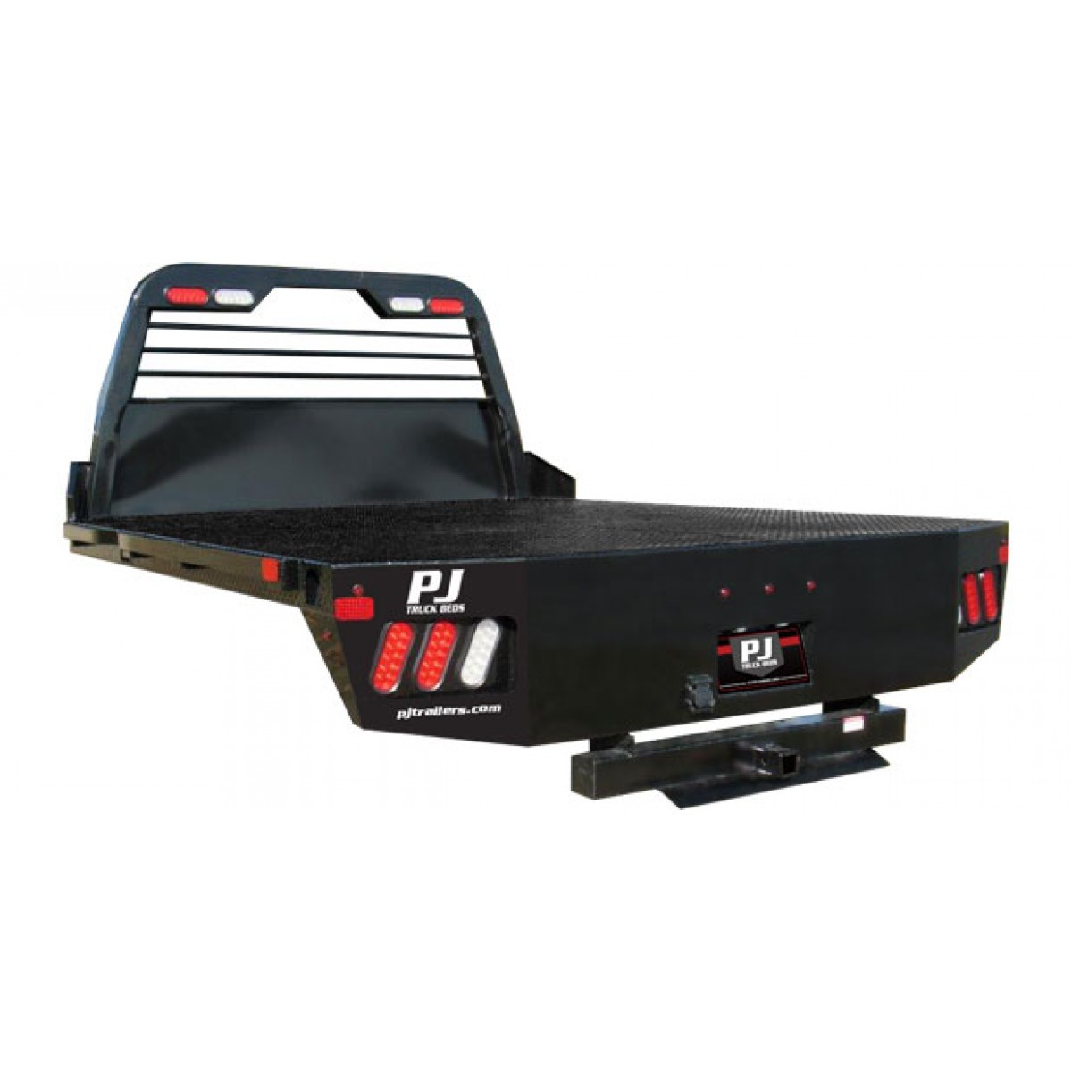 New pj gb flatbed pickup flatbeds bumpers for Bed tech 3000