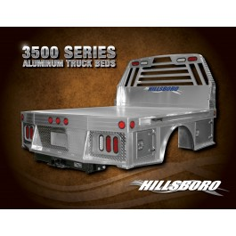Hillsboro 3500 Series Flat Bed Aluminum with built in boxes