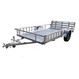 """2022 Primo 82""""x14' Utility with Side Load ATV"""