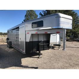 2022 Travalong 24' Rancher Stock Combo Trailer