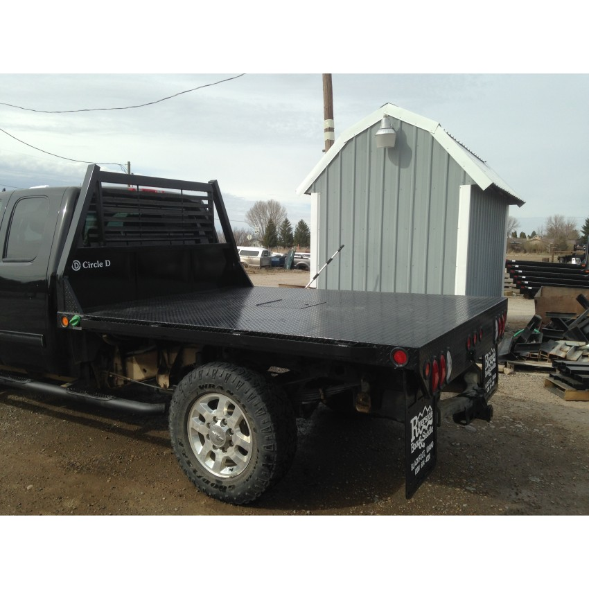Circle D Flat Bed - Circle D - Pickup Flatbeds/Bumpers on