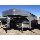 "New Circle D 6'8""x24' Bull Hauler Package"