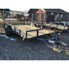"2021 Load Trail 77""x12' Single Axle Utility w/Ramp Gate"