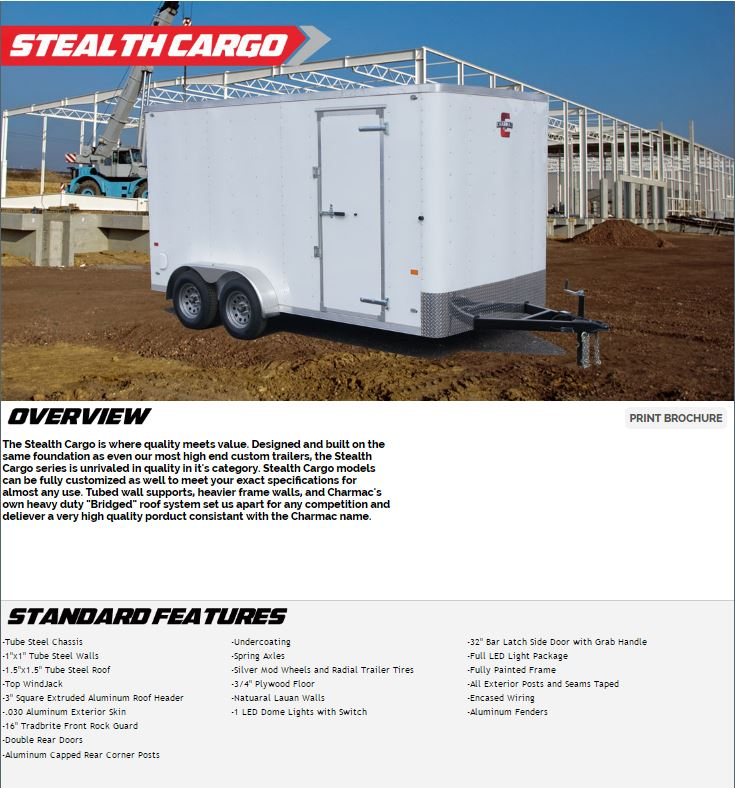 stealth new charmac stealth cargo,Wiring Led Light Bar On Roof Of Cargo Trailer