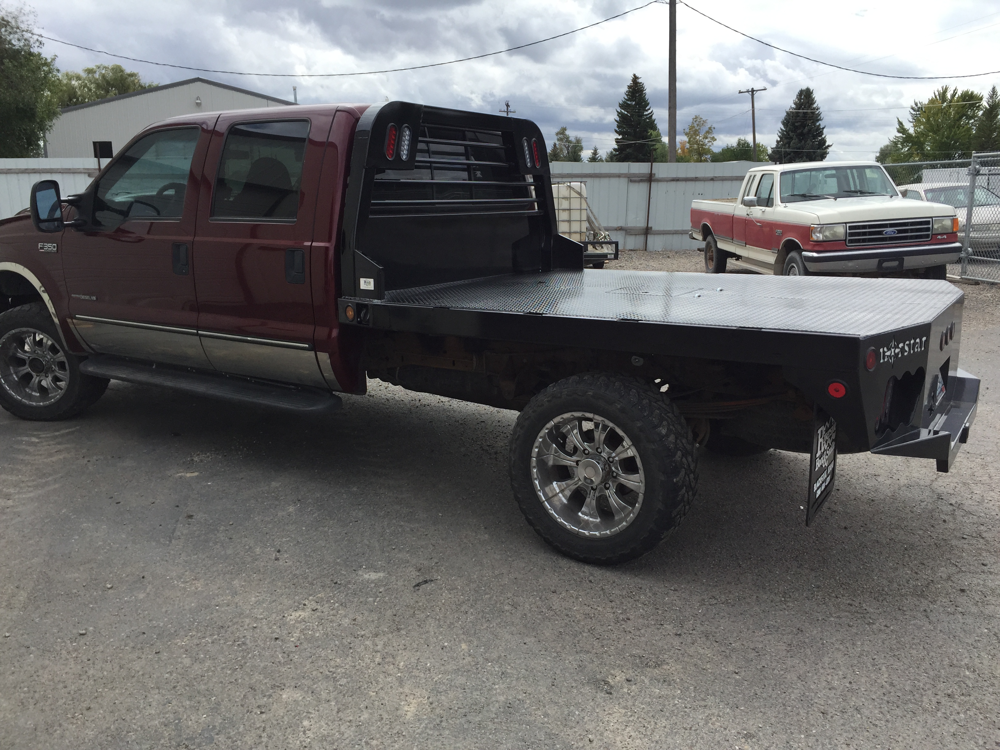 Compare Tire Sizes >> Norstar Flatbed for pickup and trucks